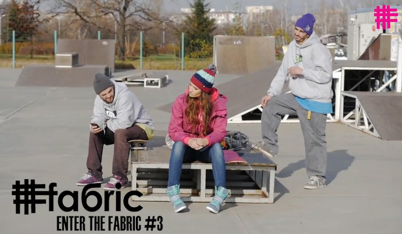 Enter the Fabric