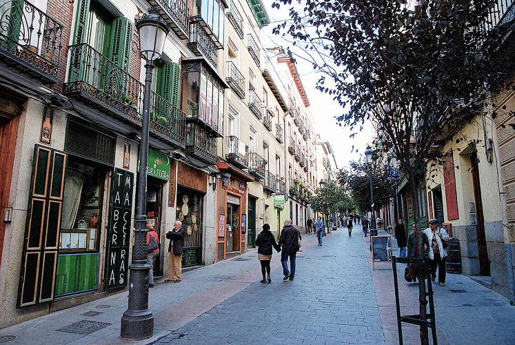 Градове без коли - Мадрид
