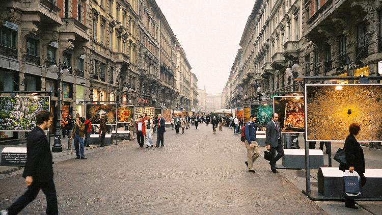 Градове без коли – Милано
