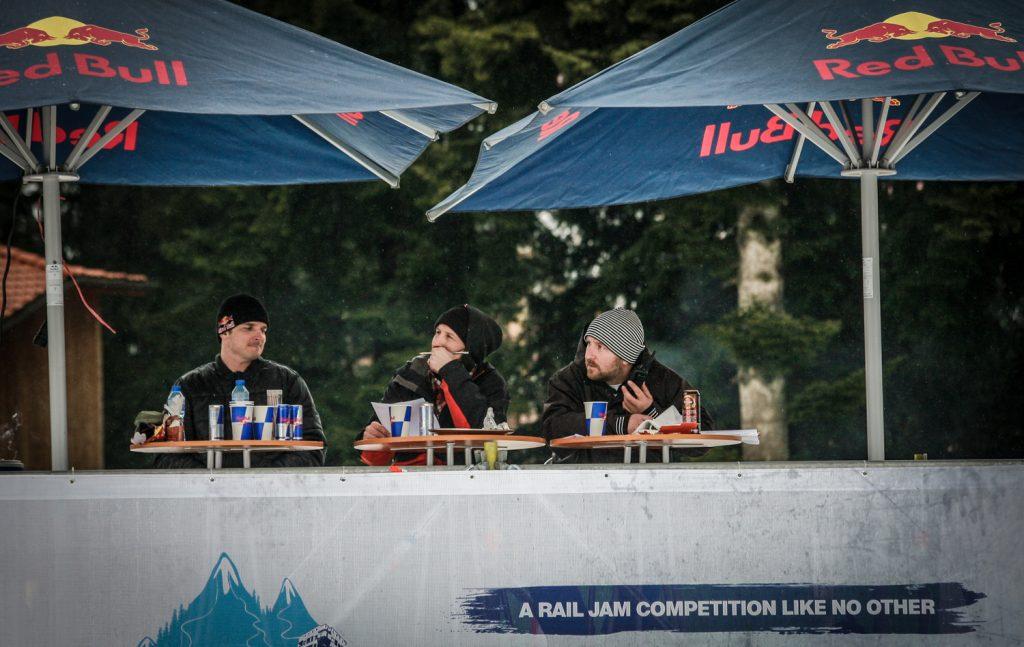 Съдиите на FRAGMENTS. Снимка: Ванчела Митова, Red Bull JOURNEYversity