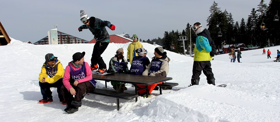 Snow Park Borosport - фрийстайлът