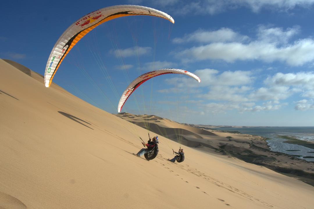 Весо Овчаров над Намибия