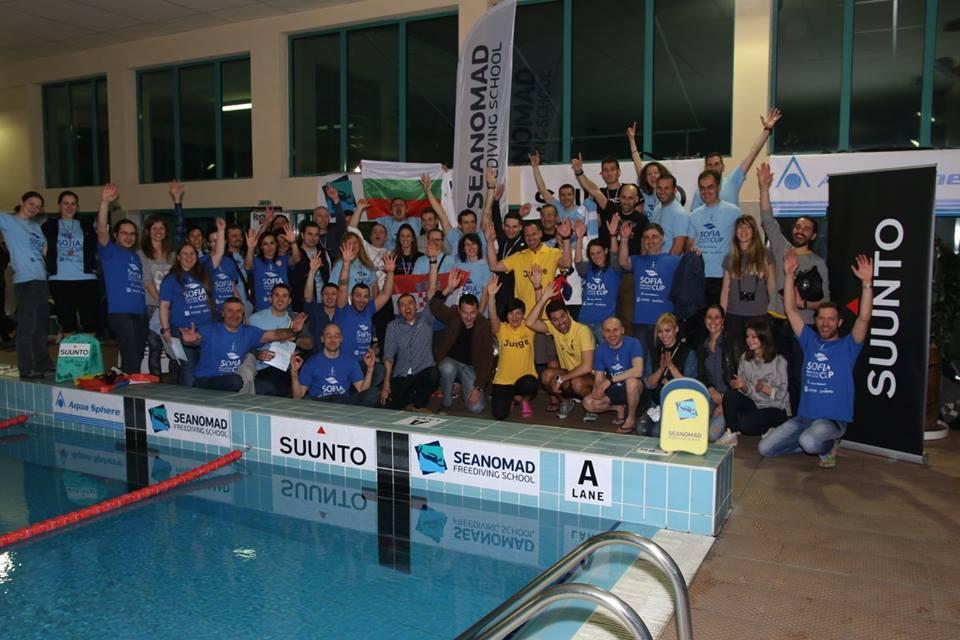 Sofia Freediving Cup 2015