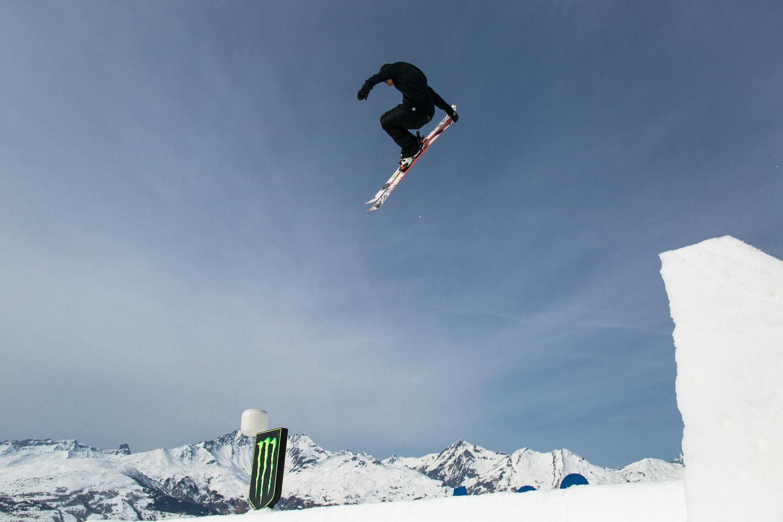 B&E Invitational 2015 - фрийстайл ски - Джоси Уелс