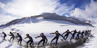 Да разцепиш снега… с уейкскейт - Браян Гръб