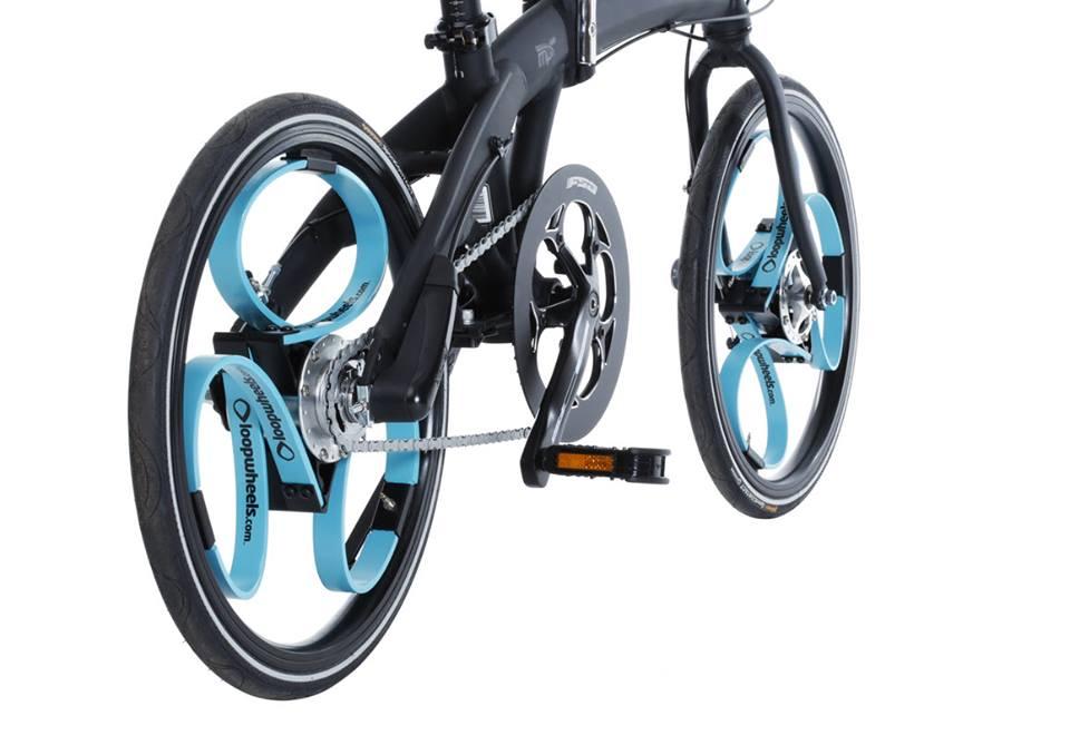 Loopwheel. Иновация: Колело с гуми-амортисьори