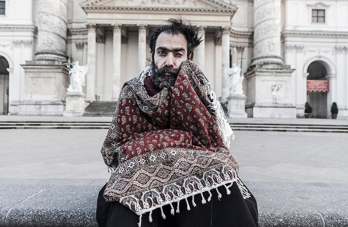 People - Saleh Rozati, Iran (lives in Austria)