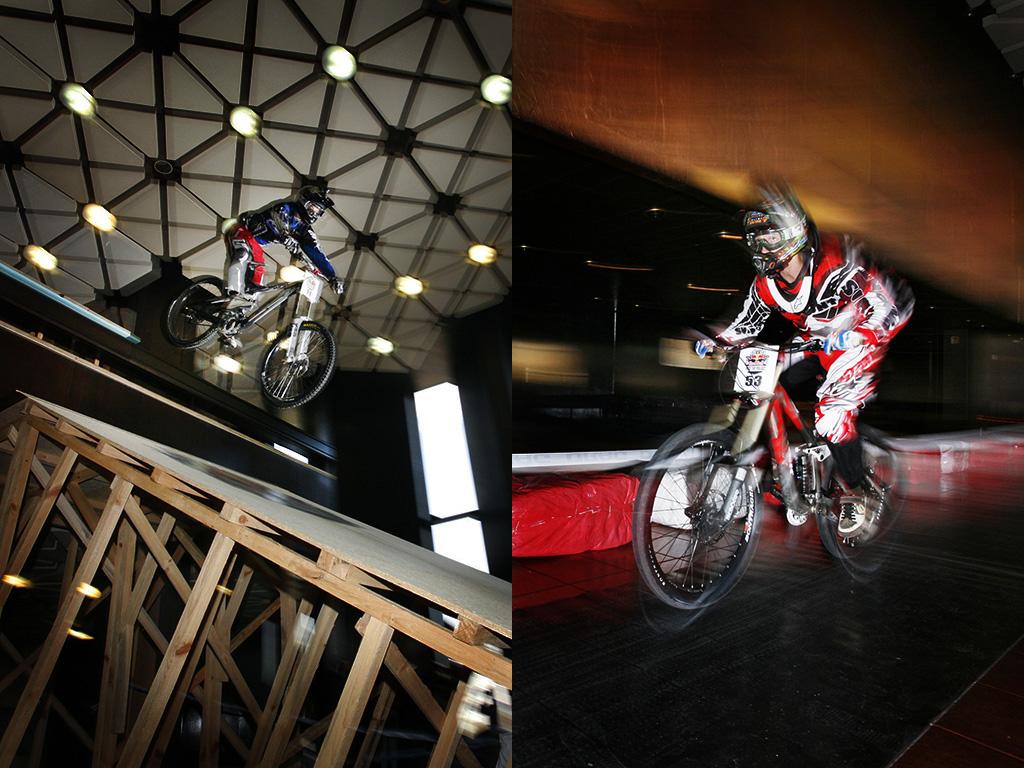 Red Bull Ride The Palace в НДК. Снимки: Яне Голев