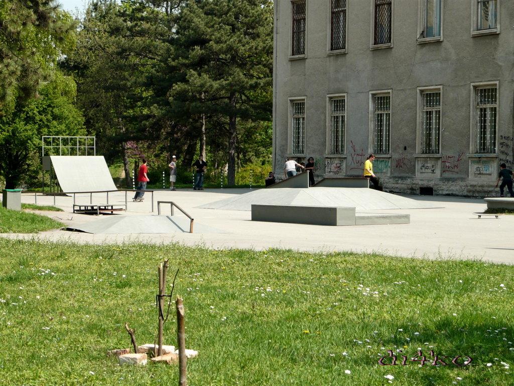Скейт в България - Русе