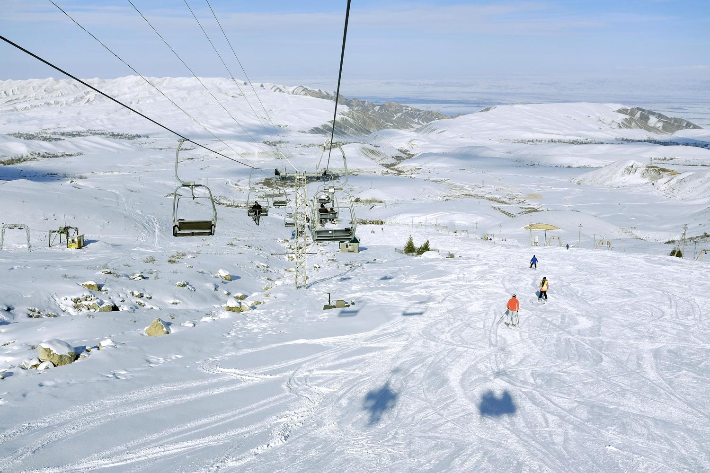 Ски като за последно - Киргизстан