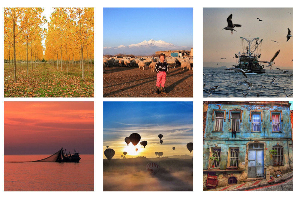 Instagram, пътуване