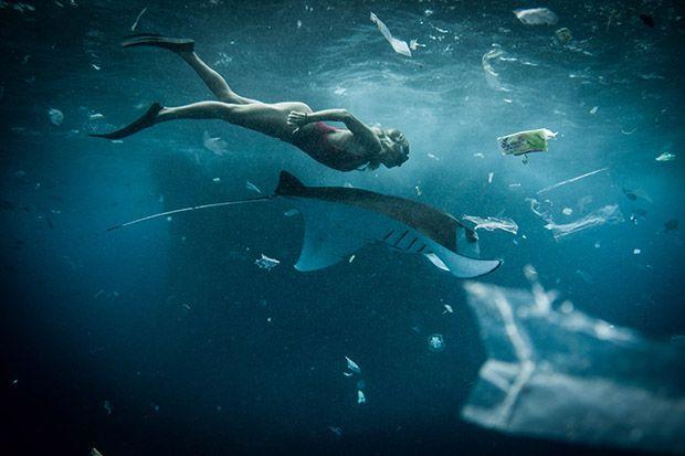 Океан от пластмаса