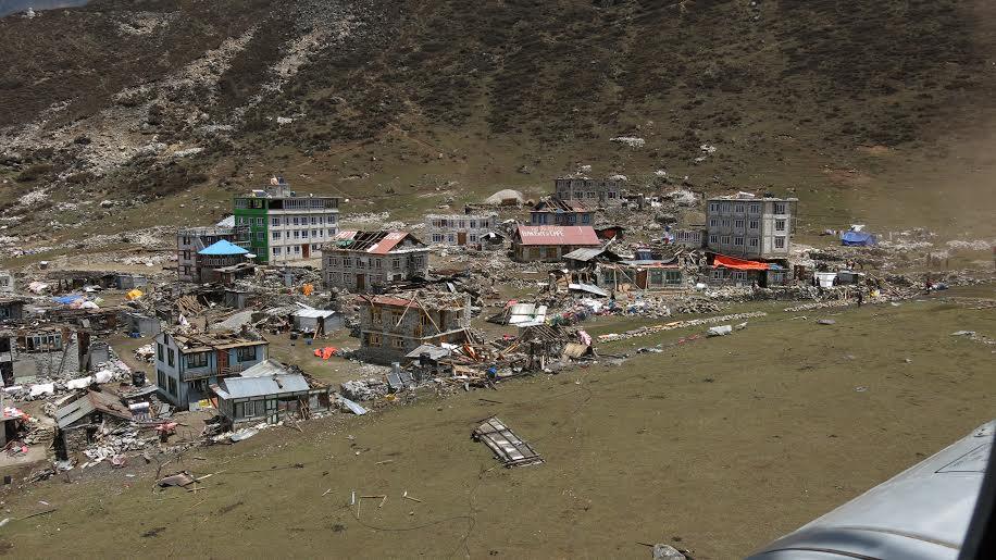 Вторичен трус: Бедствие в Непал