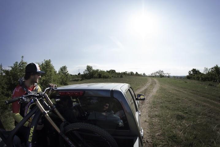 Филип Полк към старта на трасето. Фотограф: Константин Тръпчев, Red Bull JOURNEYversity
