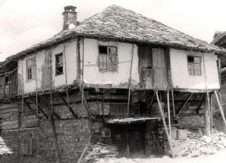 Автентична снимка на село Долен