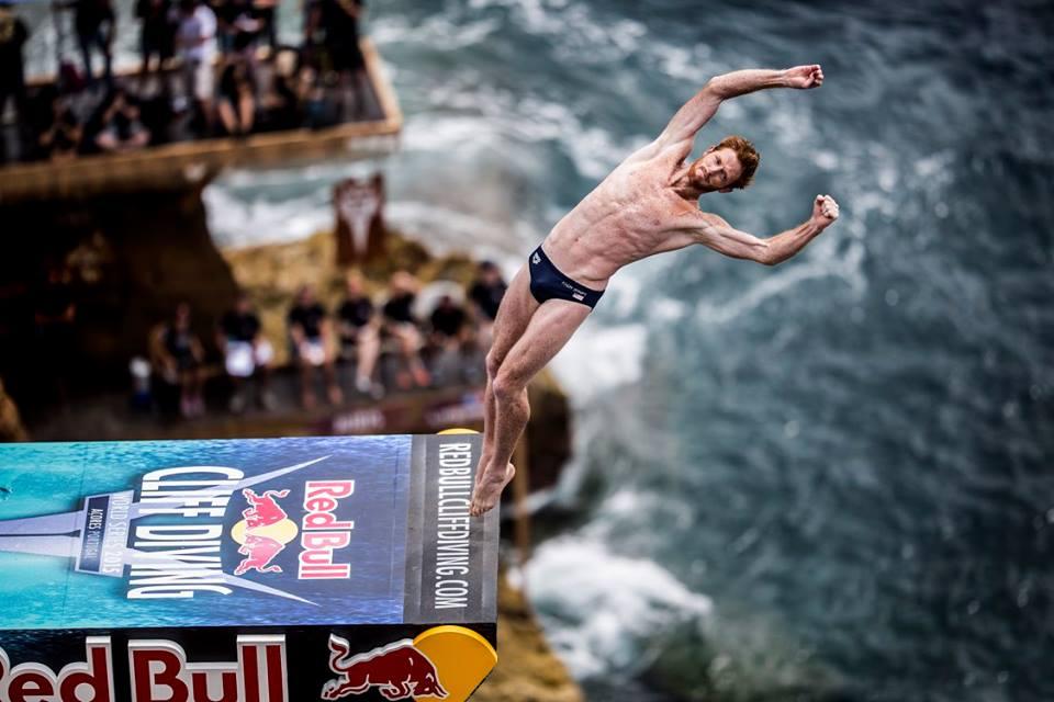 Red Bull Cliff Diving на Азорските острови