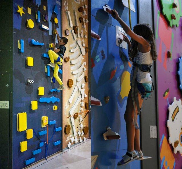 Интерактивни стени за катерене