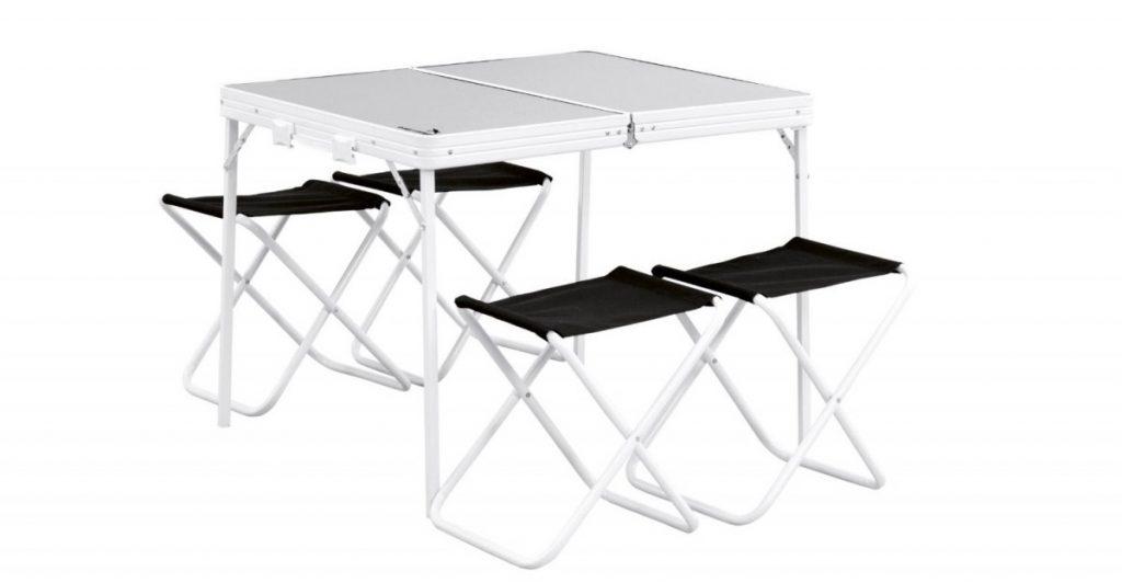 Сгъваема маса с 4 стола Easy Camp