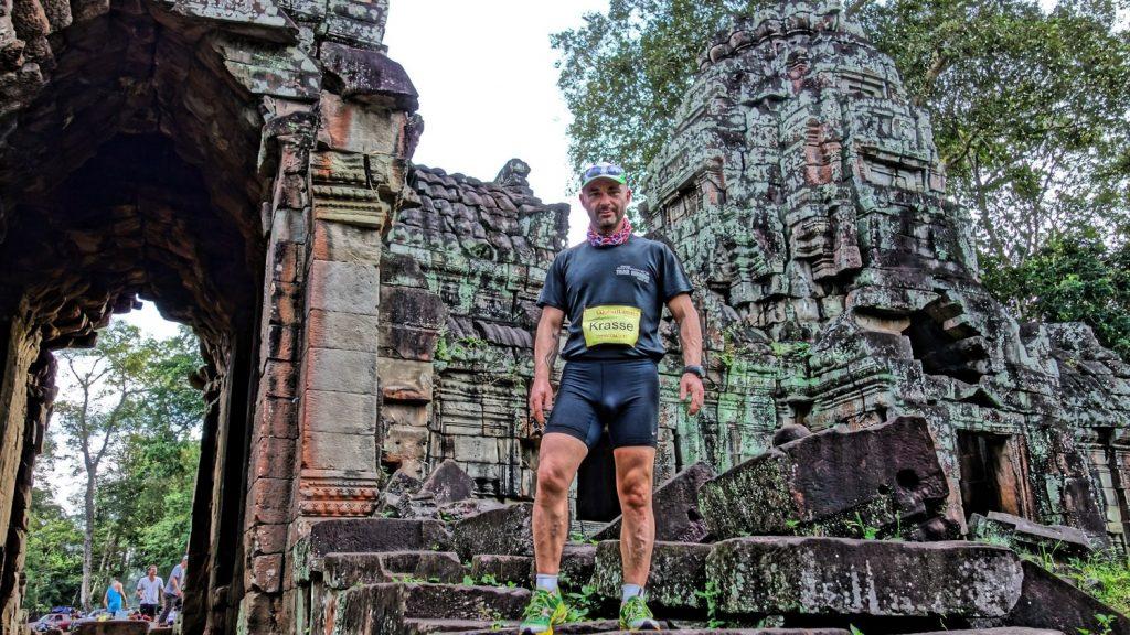 Краси Георгиев на маратон в Камбоджа