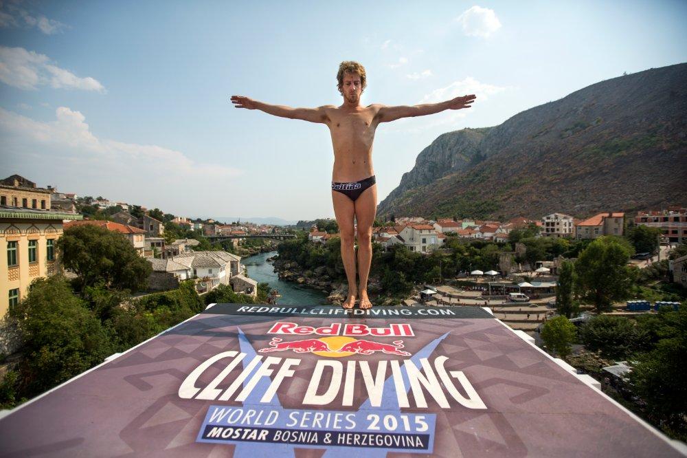 Гари Хънт, Red Bull Cliff Diving