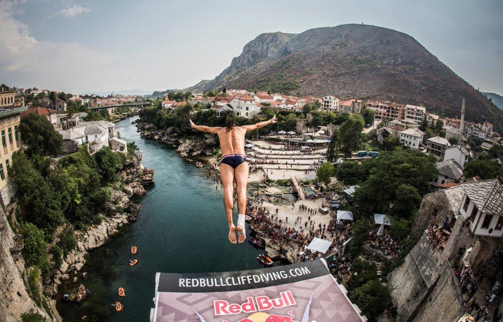 Орландо Дюке, Red Bull Cliff Diving