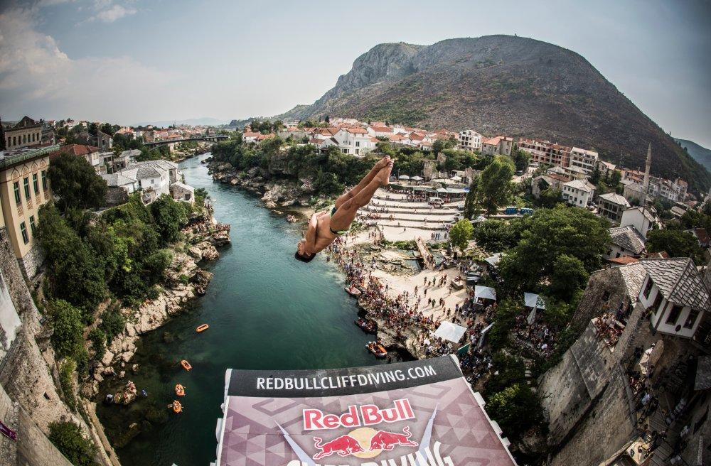 Джонатан Передес, Red Bull Cliff Diving