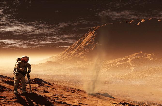 Марсианците използват GoPro