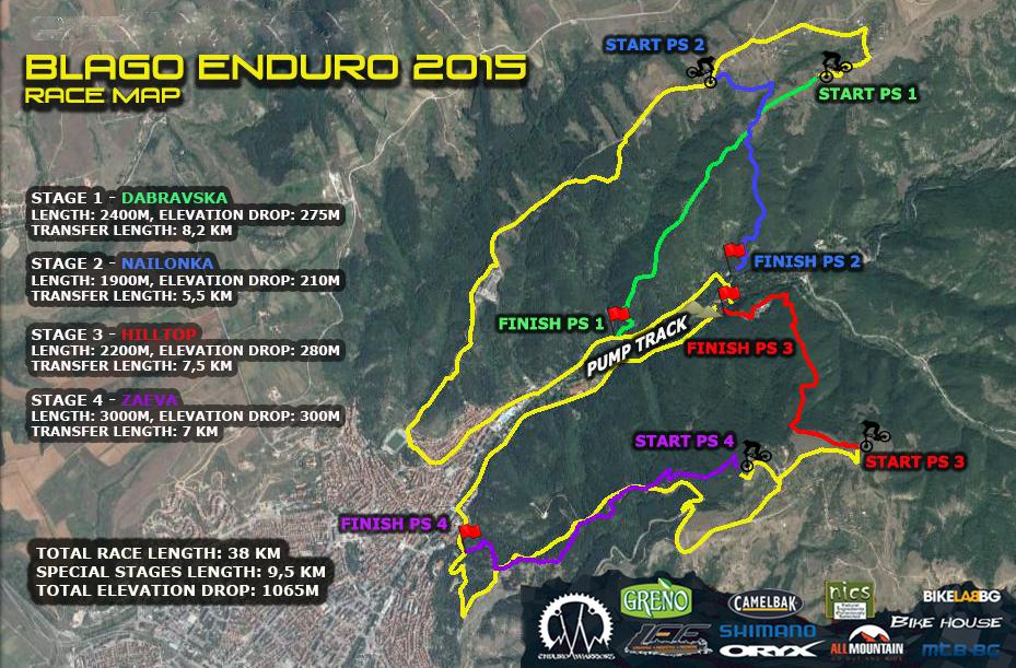 Blago Enduro 2015 map