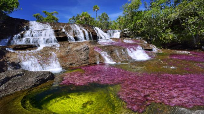 Реката на петте цвята
