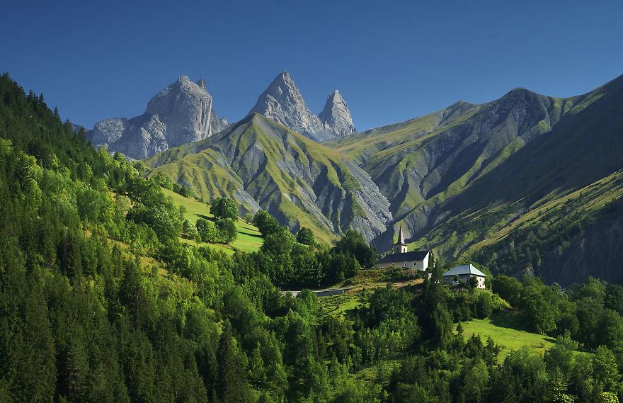 Aiguilles d'Arves във Френските Алпи