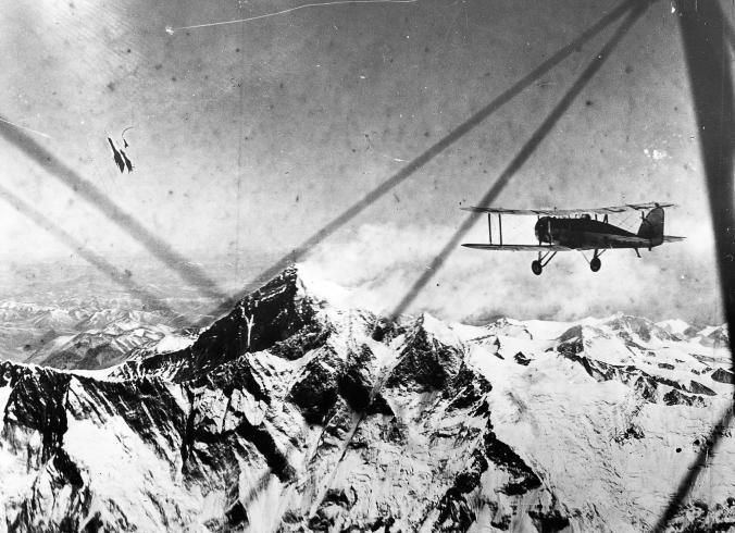Полет над Еверест