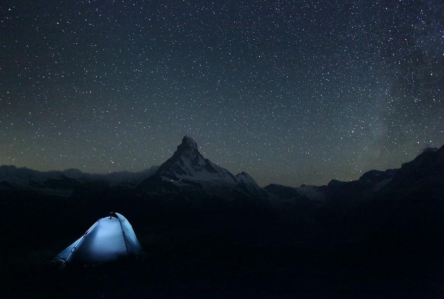 Нощ над Матерхорн