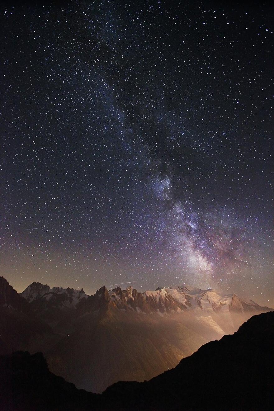 Матерхорн и Млечния път