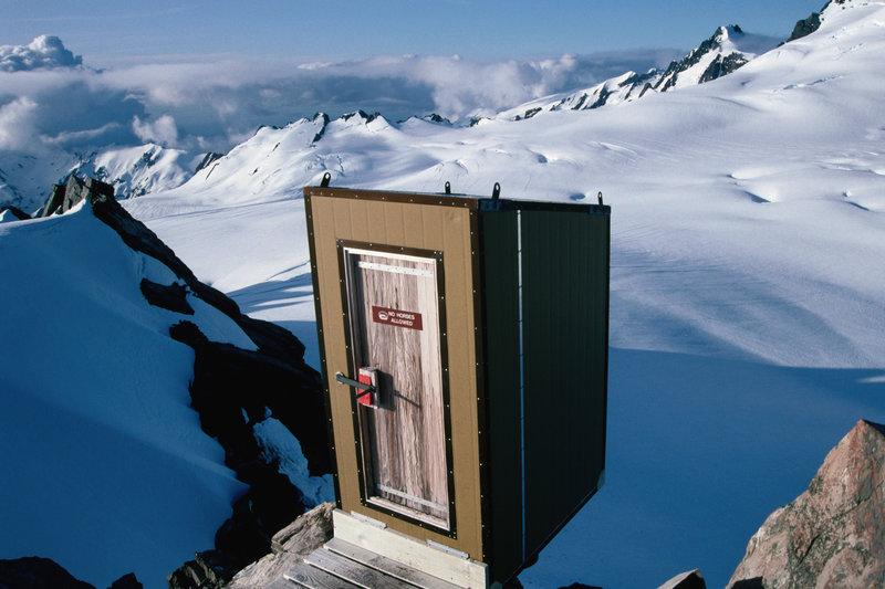 Glacier toilet