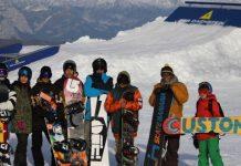 Националния отбор по сноуборд