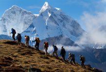Изкачване в планината