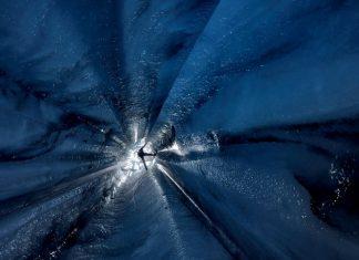 Ледени пещери, Алечки глетчер