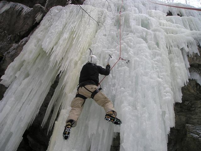 Ледено катерене