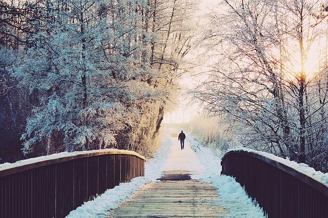 Да ходиш по вода, или изкуството да прекосиш невредим зимата