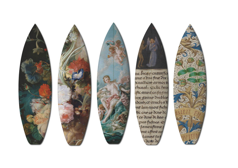 Art surfbords