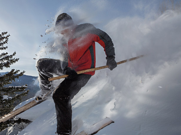 Произход на ските