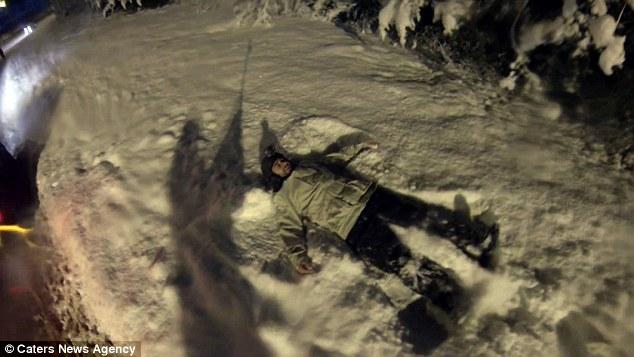 Сноуборд по улиците на Сочи; Снимка: Caters News