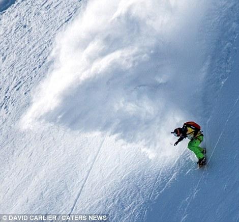 Ски по недостъпни склонове
