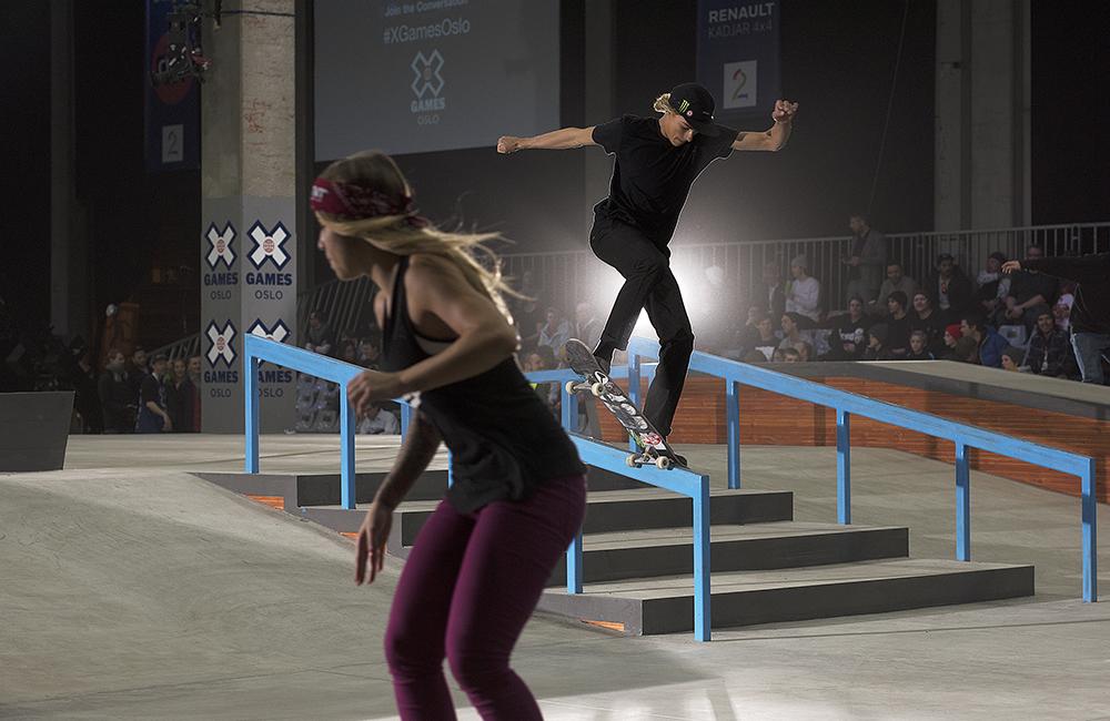 XGames Skateboarding in Oslo