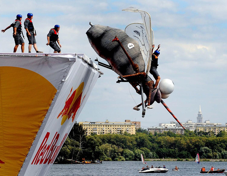 Red Bull FLUGTAG, летене