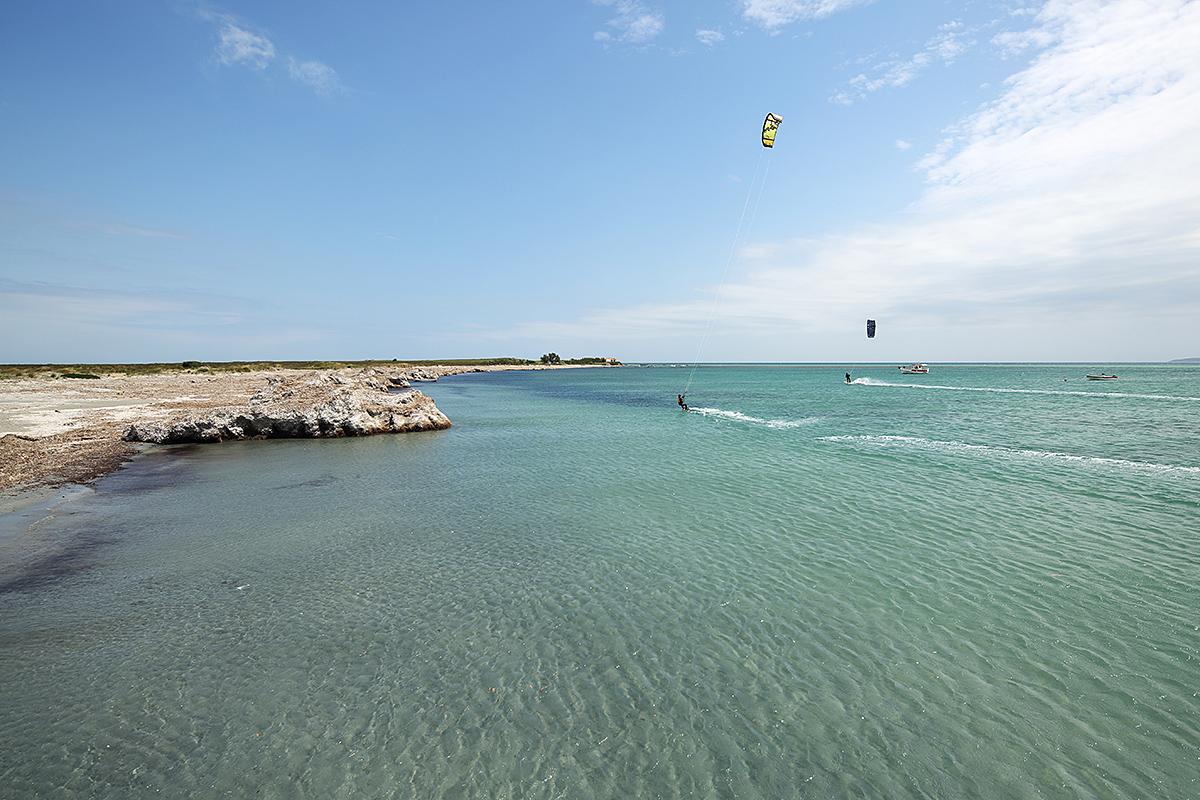 Базата на SIROKO SURF на остров Лимнос