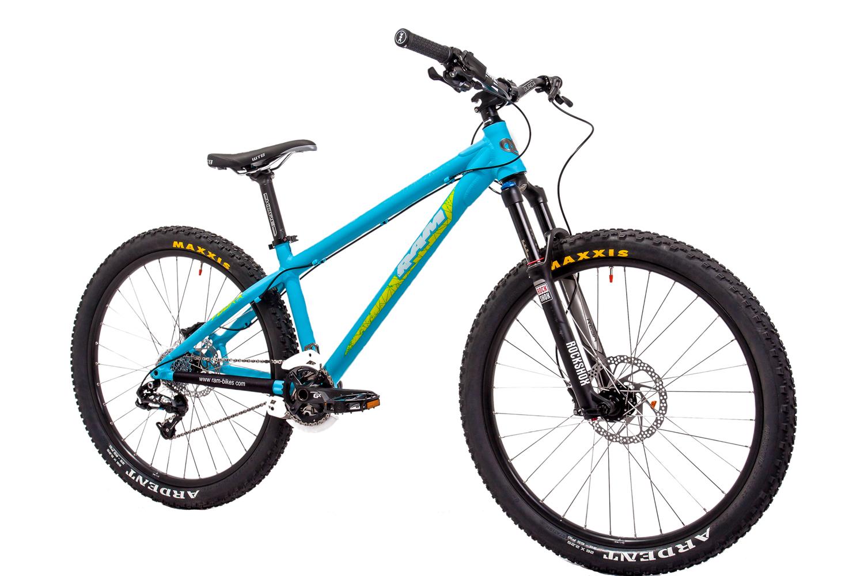 Four X_Ram Bikes