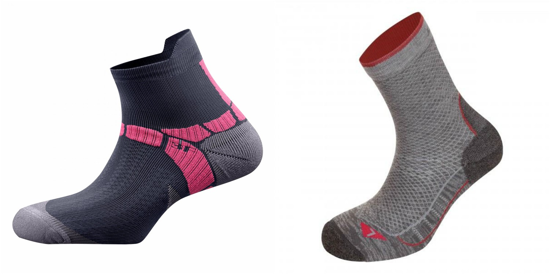 Чорапи SALEWA LITE TRAINING; чорапи SALEWA TRAVEL WARM MERINO
