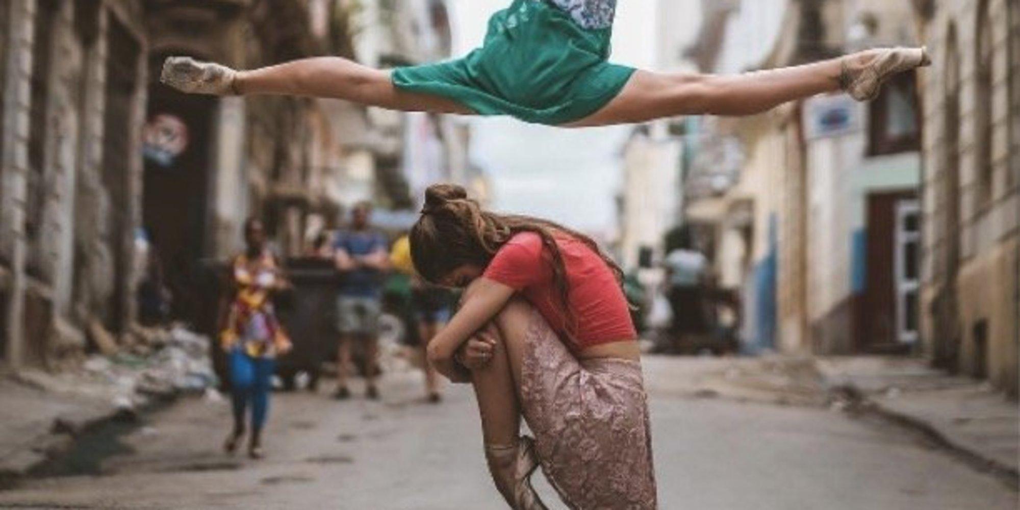 Балет на улицата