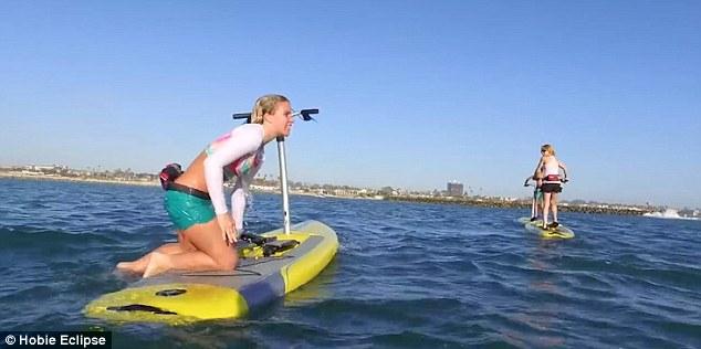 фитнес сърф с педали